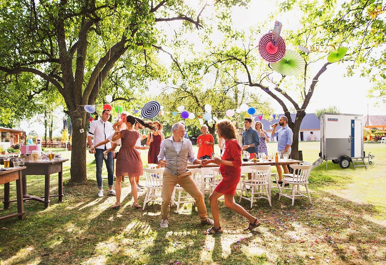 Private Feiern und Partys