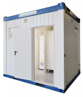 TOI® Dusch/WC-Container Cubus Combi