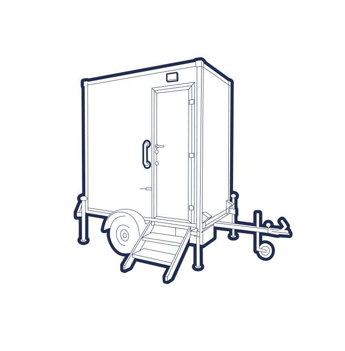 Mobile Badezimmer