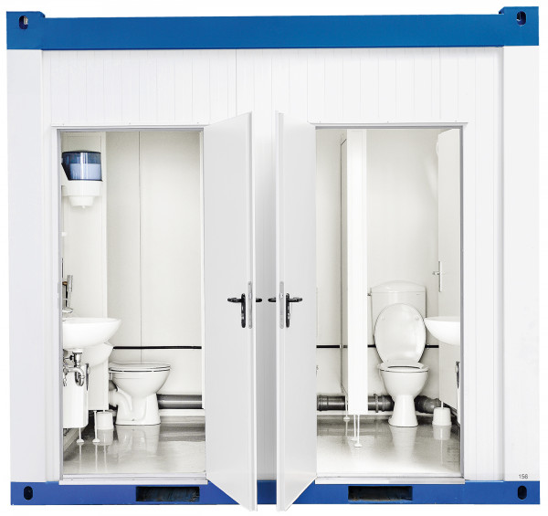 TOI® WC-Container Cubus D/H