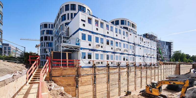 Großbaustelle Düsseldorf