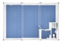 Trioanlage mit Windfang, WC und Dusche - 20 ft - 6 x 9 m