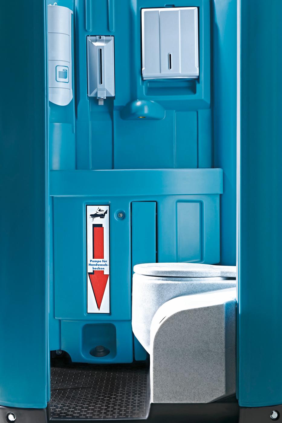 Waschbecken Und Wc : toi water das mobil wc mit waschkomfort toi toi dixi ~ Yuntae.com Dekorationen Ideen