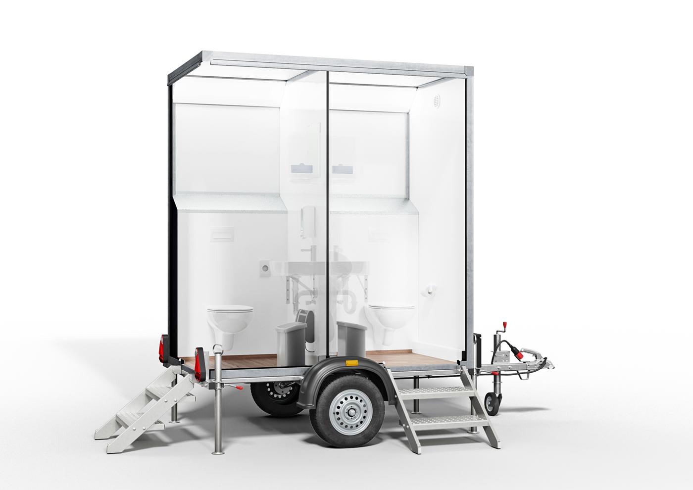 der eco wc trailer s toilettenwagen mieten f r jeden anlass toi toi dixi. Black Bedroom Furniture Sets. Home Design Ideas